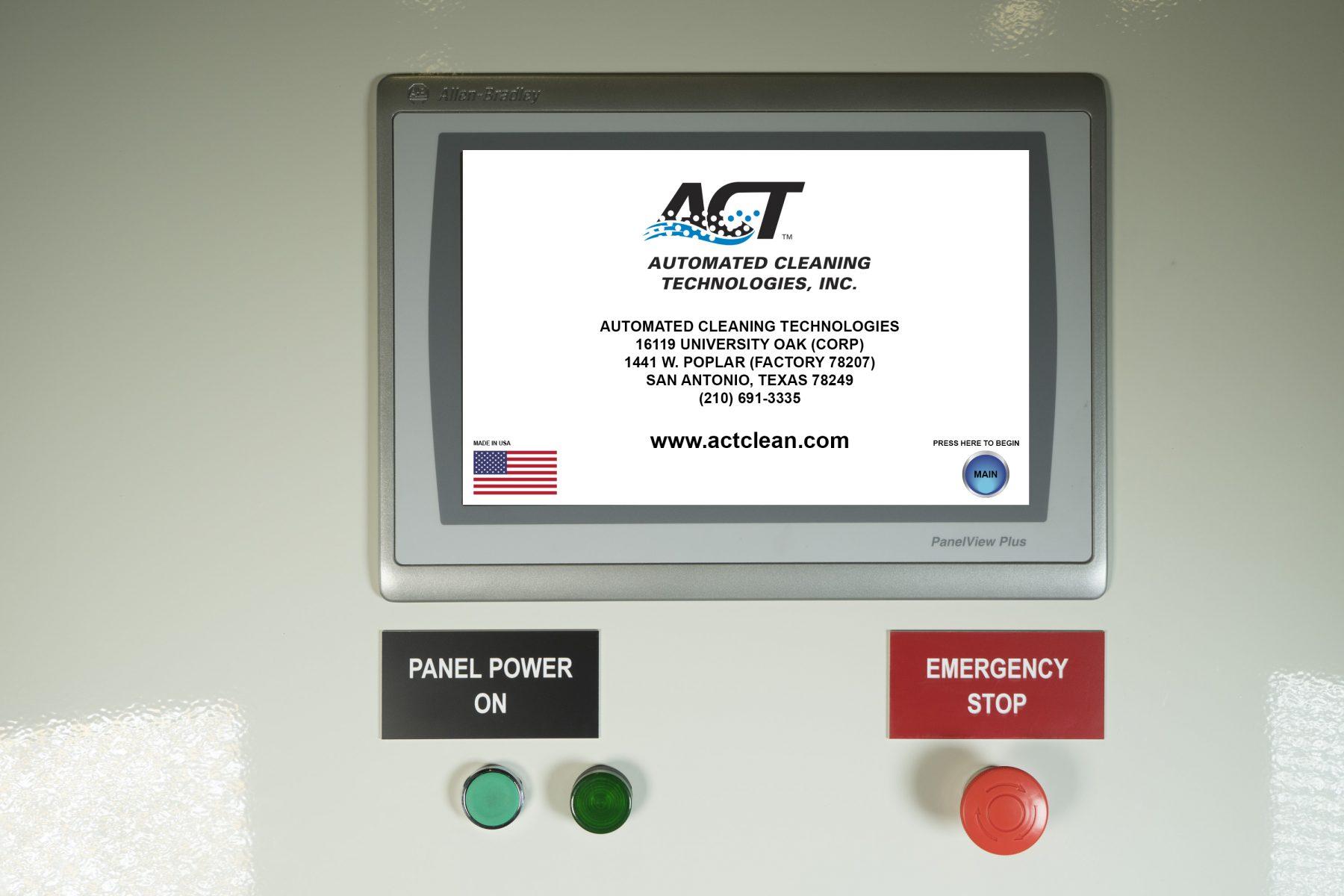 PLC Control Panel Start Up