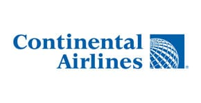 Continental Airlines Logo ACT