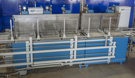 Automated Transfer Industrial Parts Washer