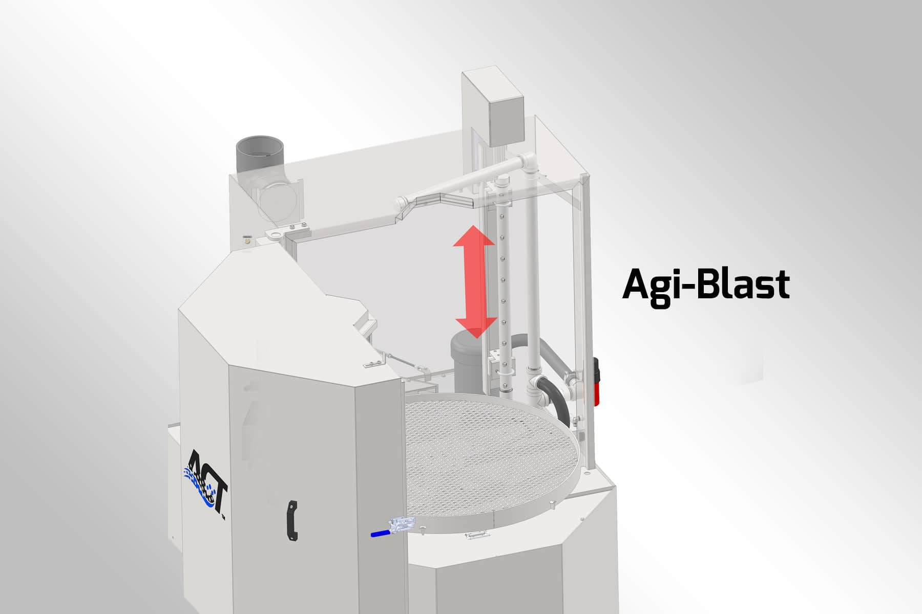 ACT Agi-Blast System Graphic