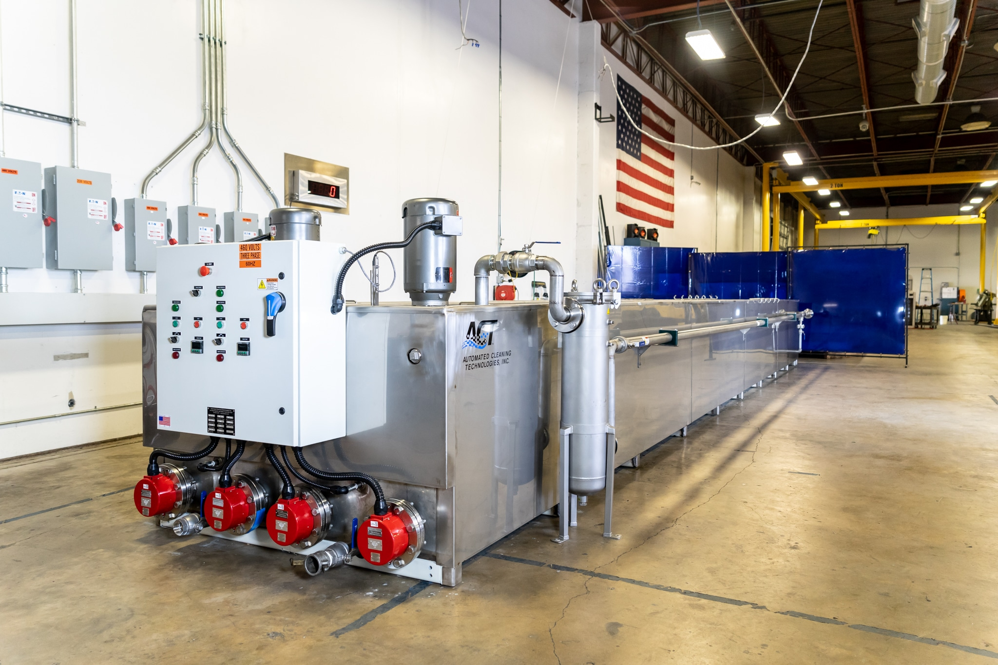Stator Tube Processing System Automated Cleaning Technologies