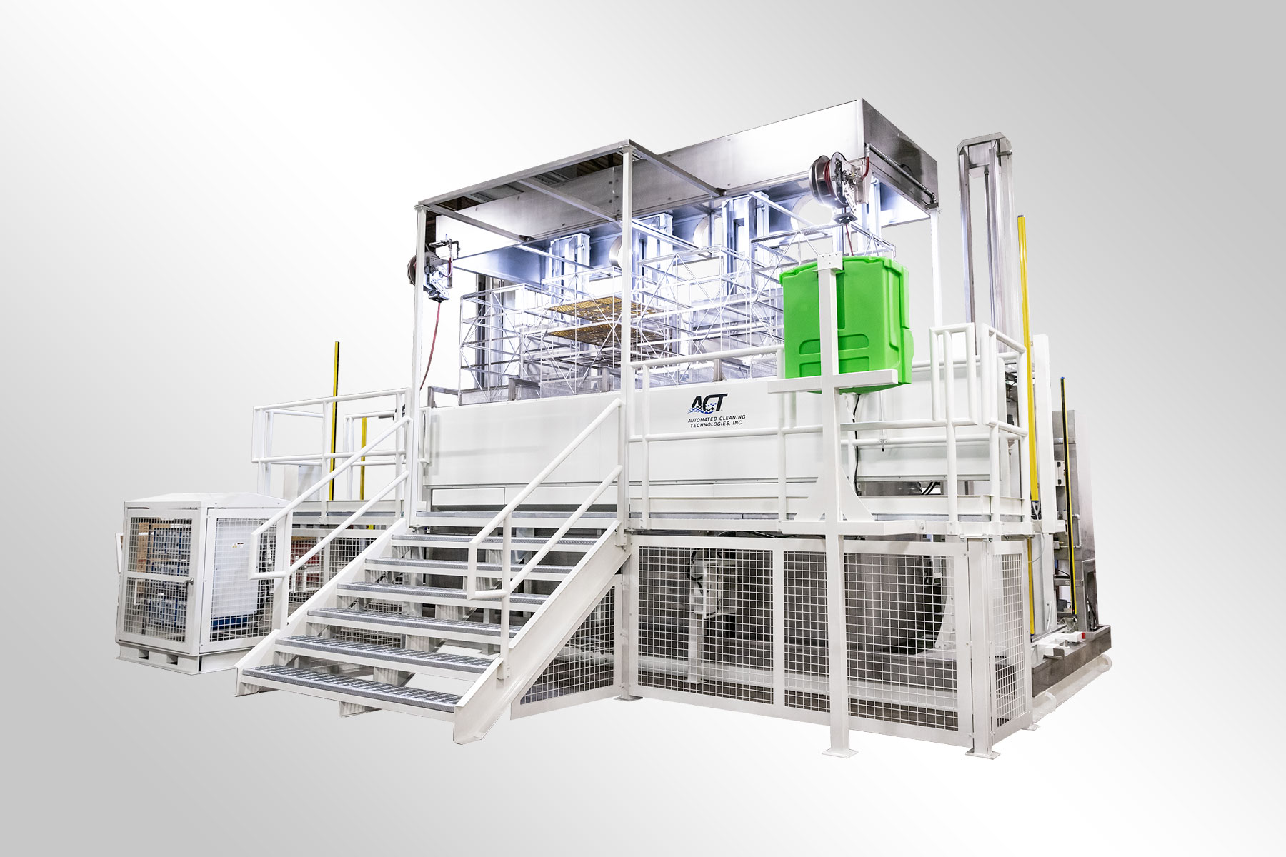 ACT Large Scale Automated Cleaning System