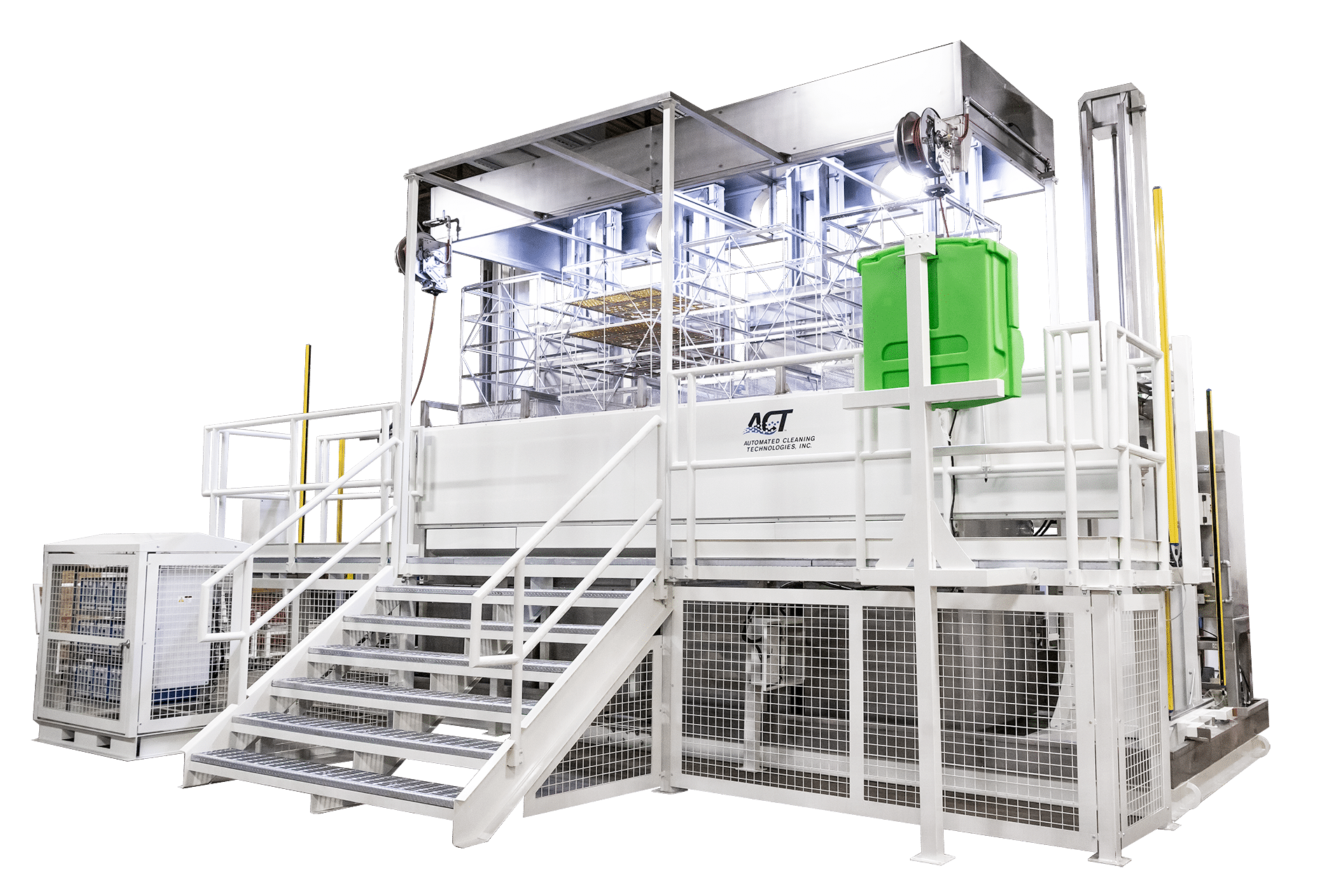Large Scale Automated Cleaning System
