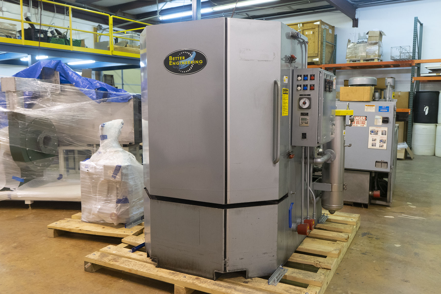 Used Parts Washer Better Engineering F4000-P-ZX for Sale