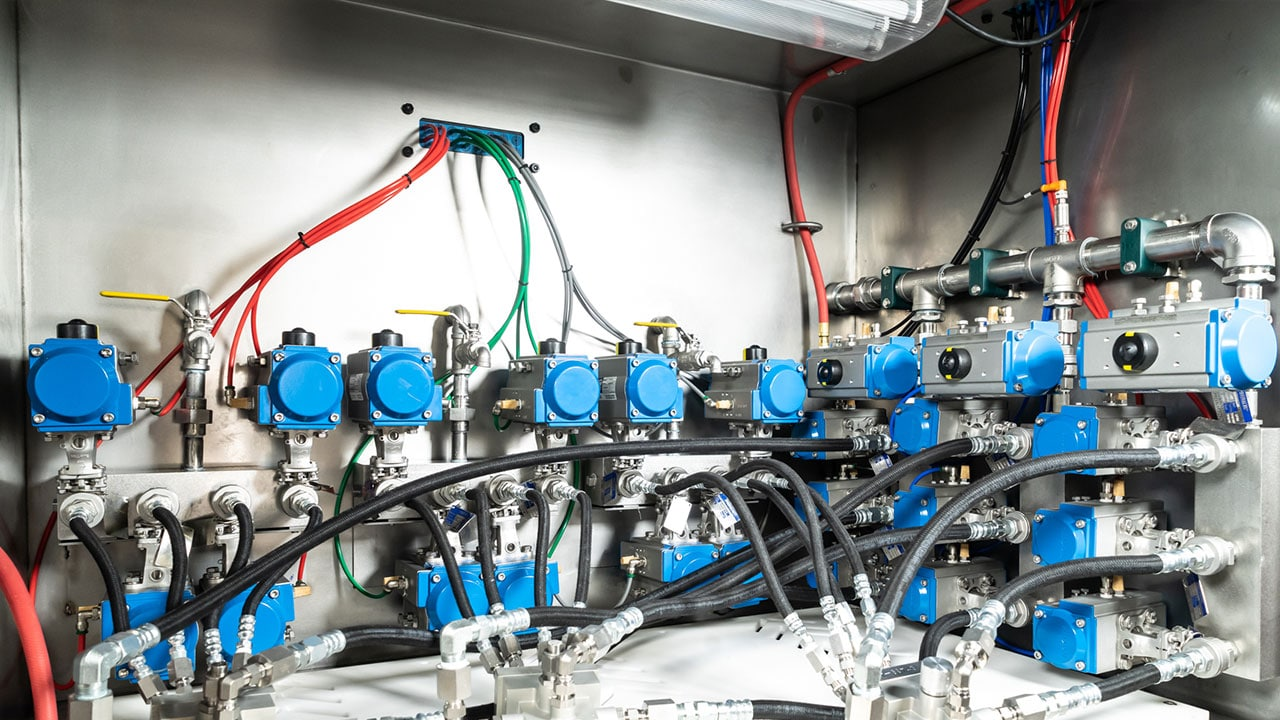 Hydraulic Components Flush System 1