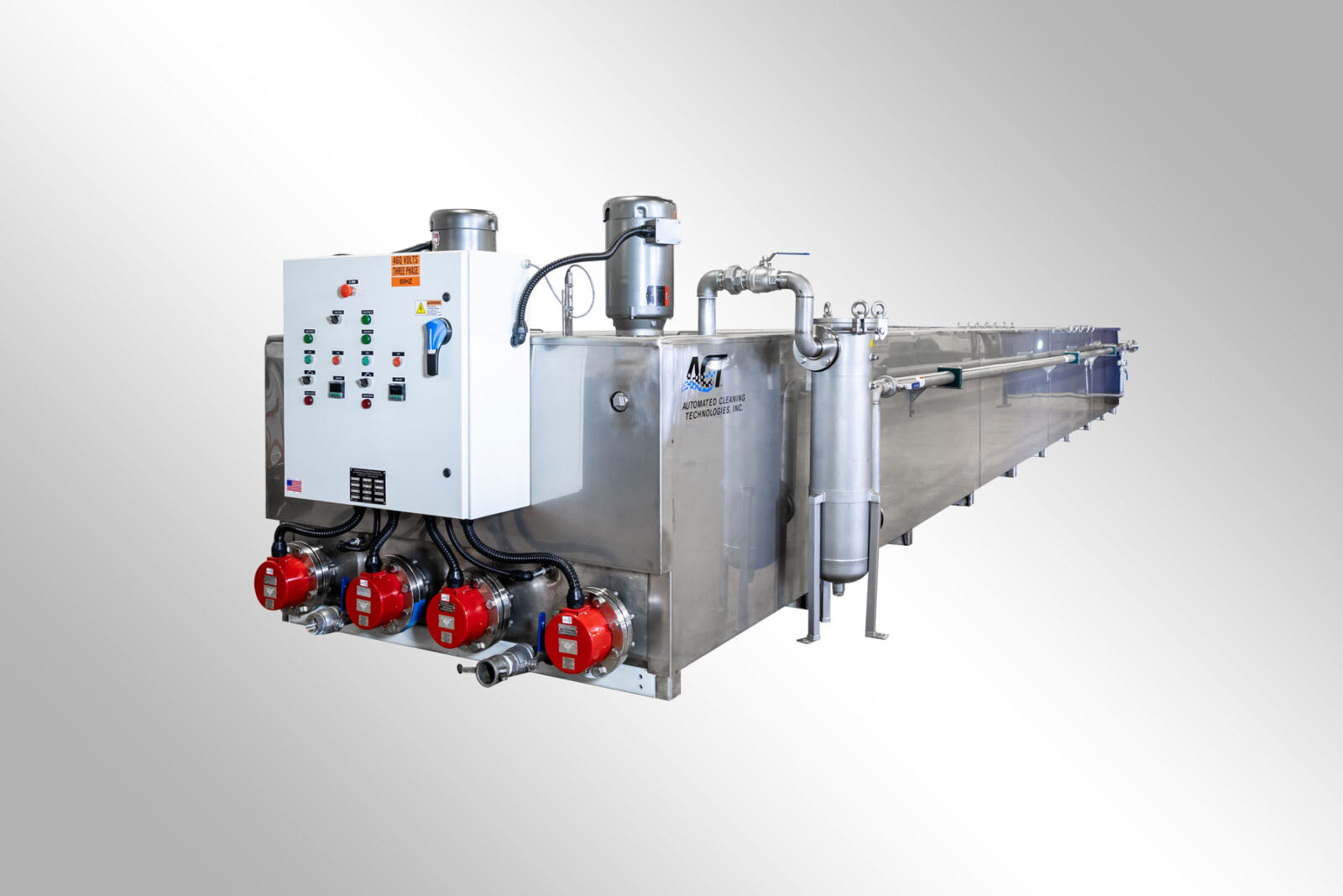 ACT Custom Large Scale Parts Washer