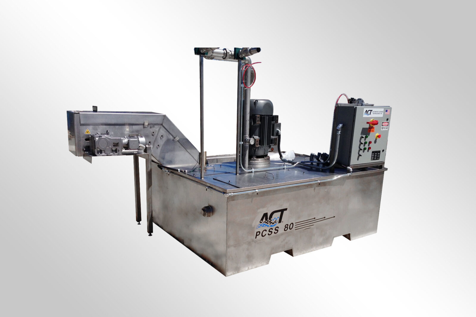 ACT Custom Steel Edge Washer 1